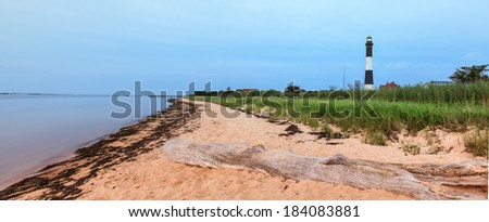 Fire Island Panorama - stock photo