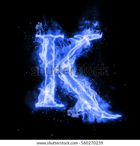 k fire isolated letter stock images, royalty-free images & vectors