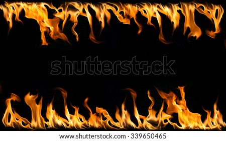 fire on black background,fire background