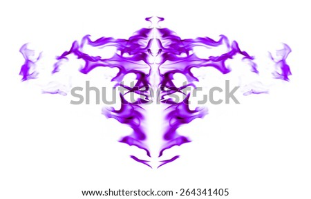 Fire purple pattern graphics abstract - stock photo