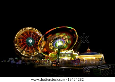 Fire rides - stock photo