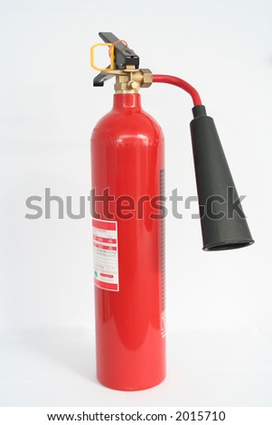 Fire Saefty Equipment - Water Fire Extinguisher - stock photo