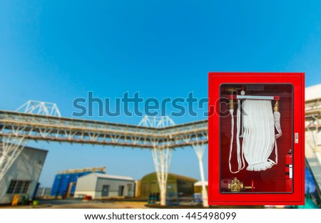 Fire safety equipment  - stock photo