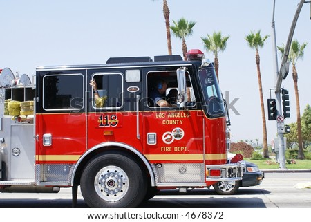Fire Safety truck los angeles