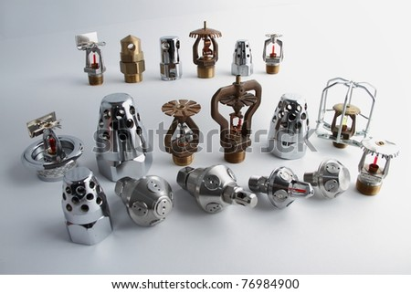 Fire sprinkler - stock photo