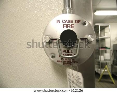 Fire Suppression System - stock photo