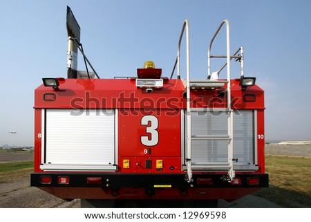 Fire truck #3 - stock photo