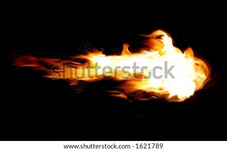 Fireball - stock photo