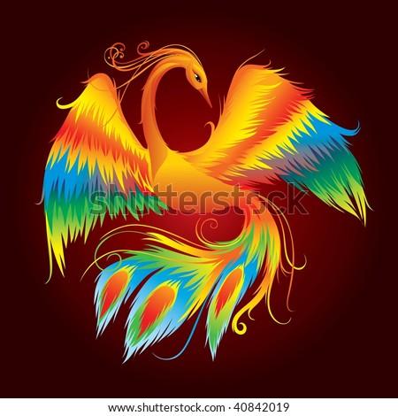 Firebird - stock photo
