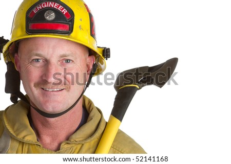 Firefighter - stock photo