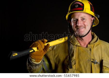 Fireman - stock photo