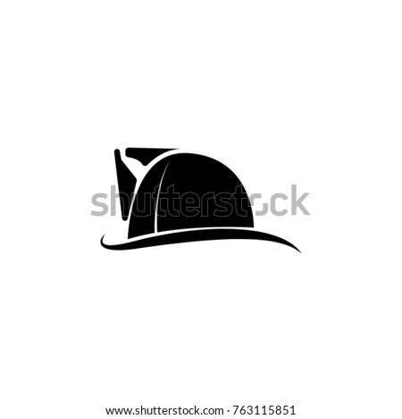 Fireman hat icon. Fireman element icon. Premium quality graphic design. Signs, outline symbols collection icon for websites, web design, mobile app, info graphics on white background