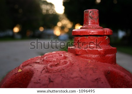fireplug - stock photo