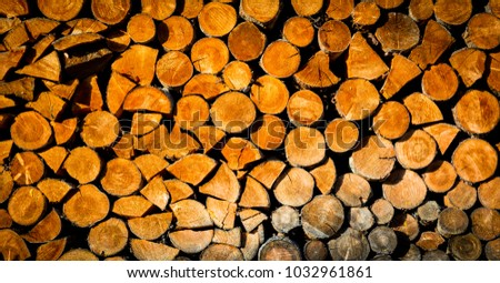 firewood stpre abstract background texture