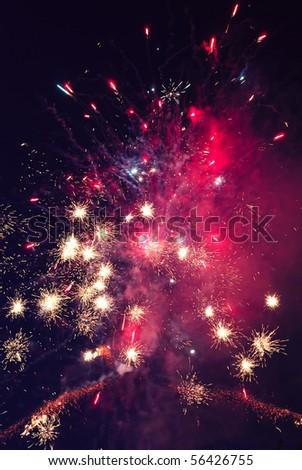 firework - stock photo
