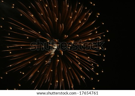 Firework background_4 - stock photo