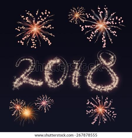Firework New Year's Eve 2018