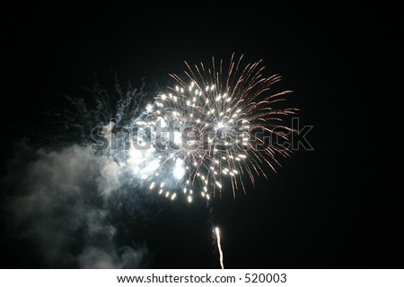 Fireworks 3 - stock photo