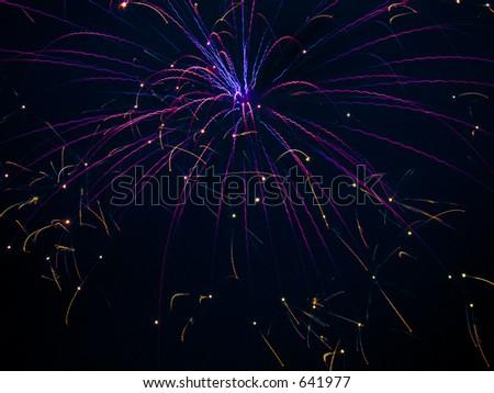 Fireworks Celebration - stock photo