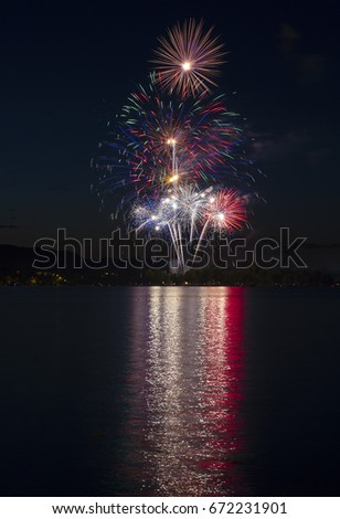 Fireworks - Fourth of July, Loveland, Colorado