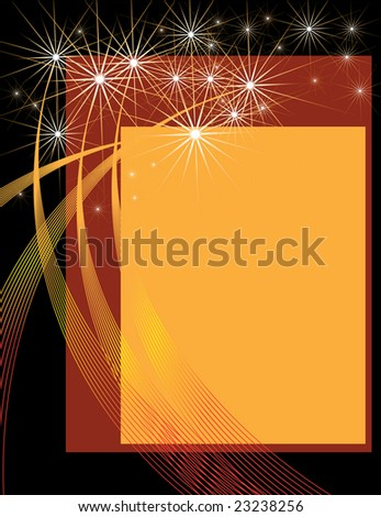 Fireworks Presentation - stock photo
