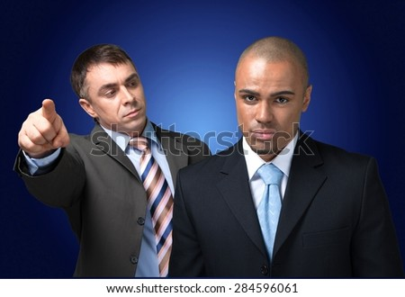 Firing, Manager, Anger. - stock photo