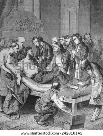 19th century surgery essay At the start of the nineteenth century, surgery was not very different from what it had been in prehistoric times operations were only done in emergencies, they were fast and dealt only with physical problems like broken bones etc.