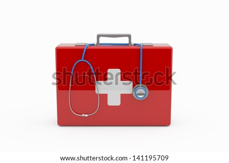 First aid concept - stock photo