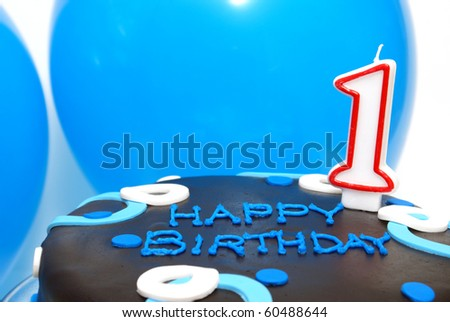 First Birthday - stock photo
