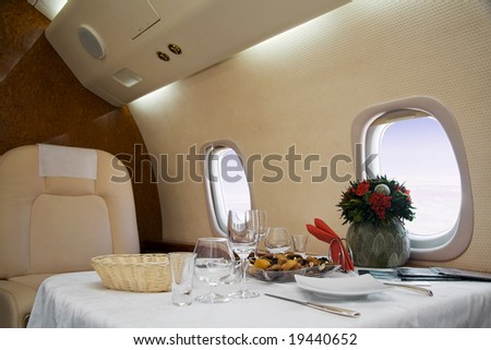 First Class - stock photo