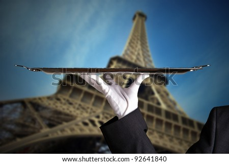 First Class in Paris - stock photo