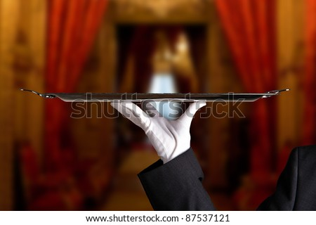 First Class Service - stock photo