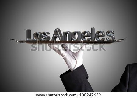 First Class Service in Los angeles - stock photo