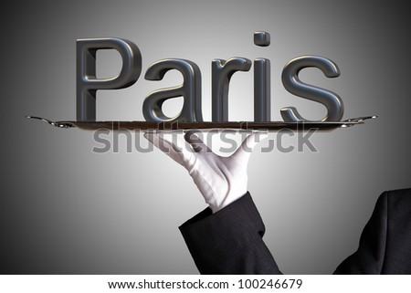 First Class Service in Paris - stock photo