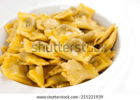 first tasty dish - stock photo