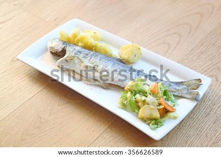 fish. - stock photo