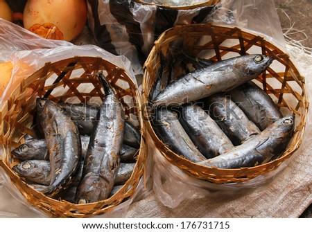 Fish at Market - stock photo