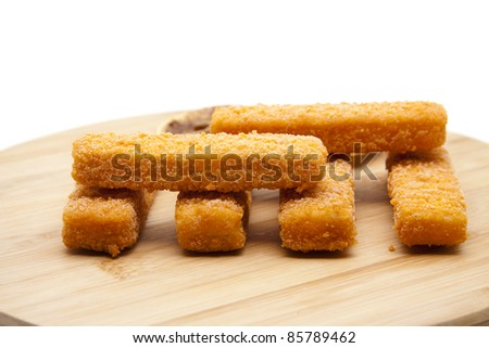 Fish finger breads