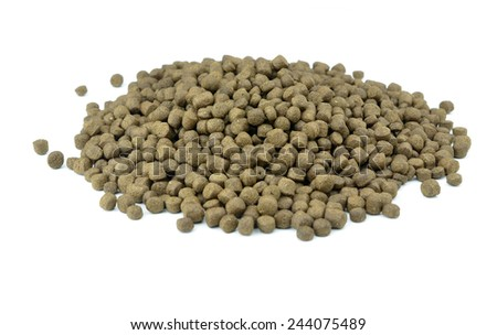 Fish food pellets