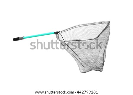 fish net. isolated on white