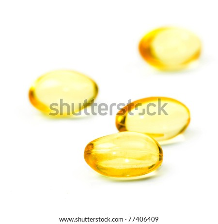 fish oil - stock photo