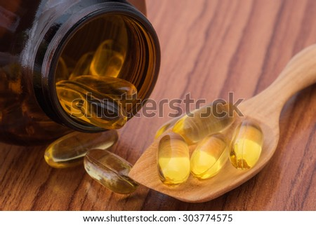 Fish Oil omega3 background