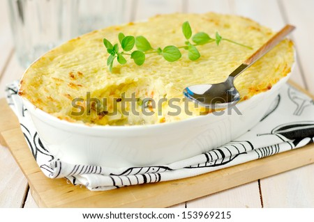 Fish Pie - stock photo