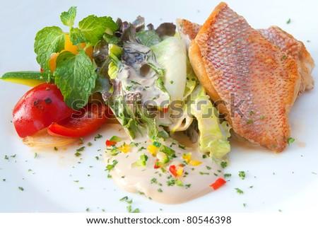 Fish Steak - stock photo