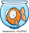 Fishbowl - stock photo