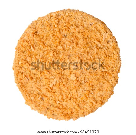 Fishcake burger - stock photo