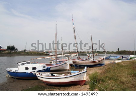 Fisher's Wharf - stock photo