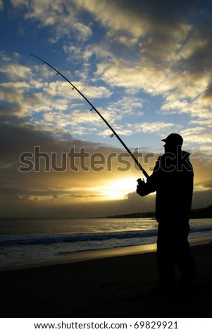 Fisherman sunset