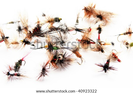Fishing lures - stock photo