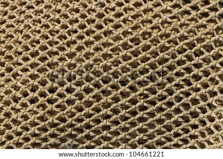 Fishing net as background - stock photo